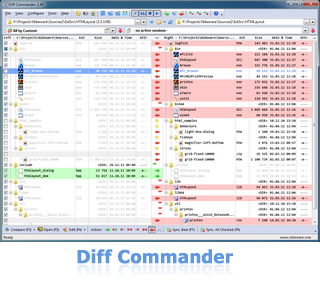 Diff Commander - directory compare and synchronize tool