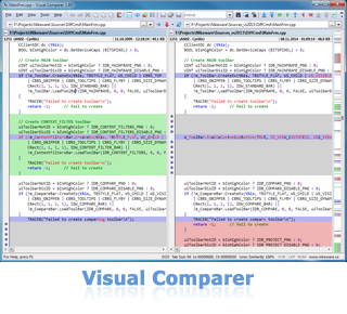 Visual Comparer - file compare and merge tool
